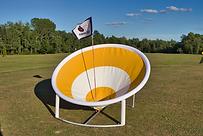 Golf range target