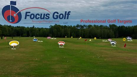 Golf Range Targets golf training aid