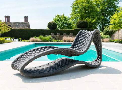 Collina Lounge Surf Sunbed Wide Rope