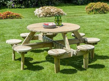Parvia Gleneagles Picnic Table