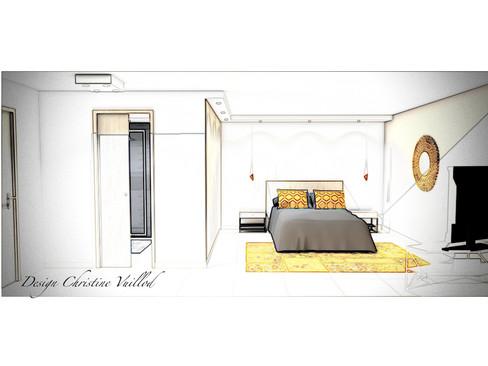 Agencement et décoration d'une chambre