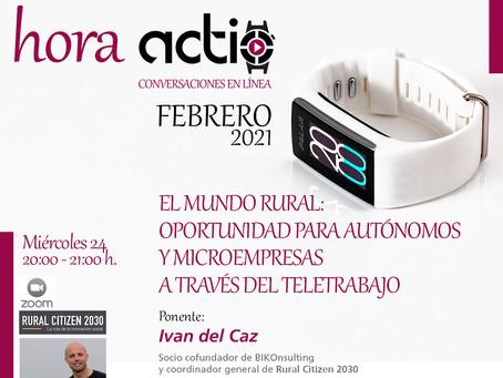 ¡Rural Citizen en hora actio el 24 de febrero! Teletrabajo como oportunidad rural.