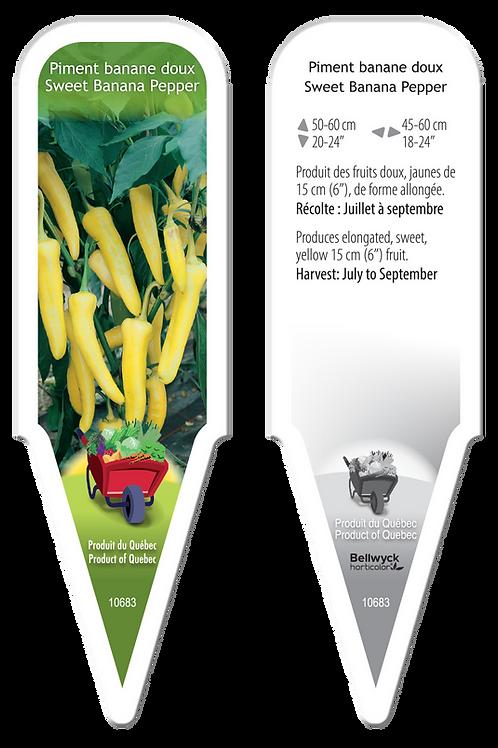 piment banane (doux)