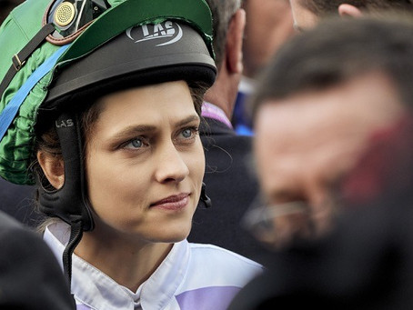 WE SALUTE YOU Michelle Payne and Rachel Griffith for achievement