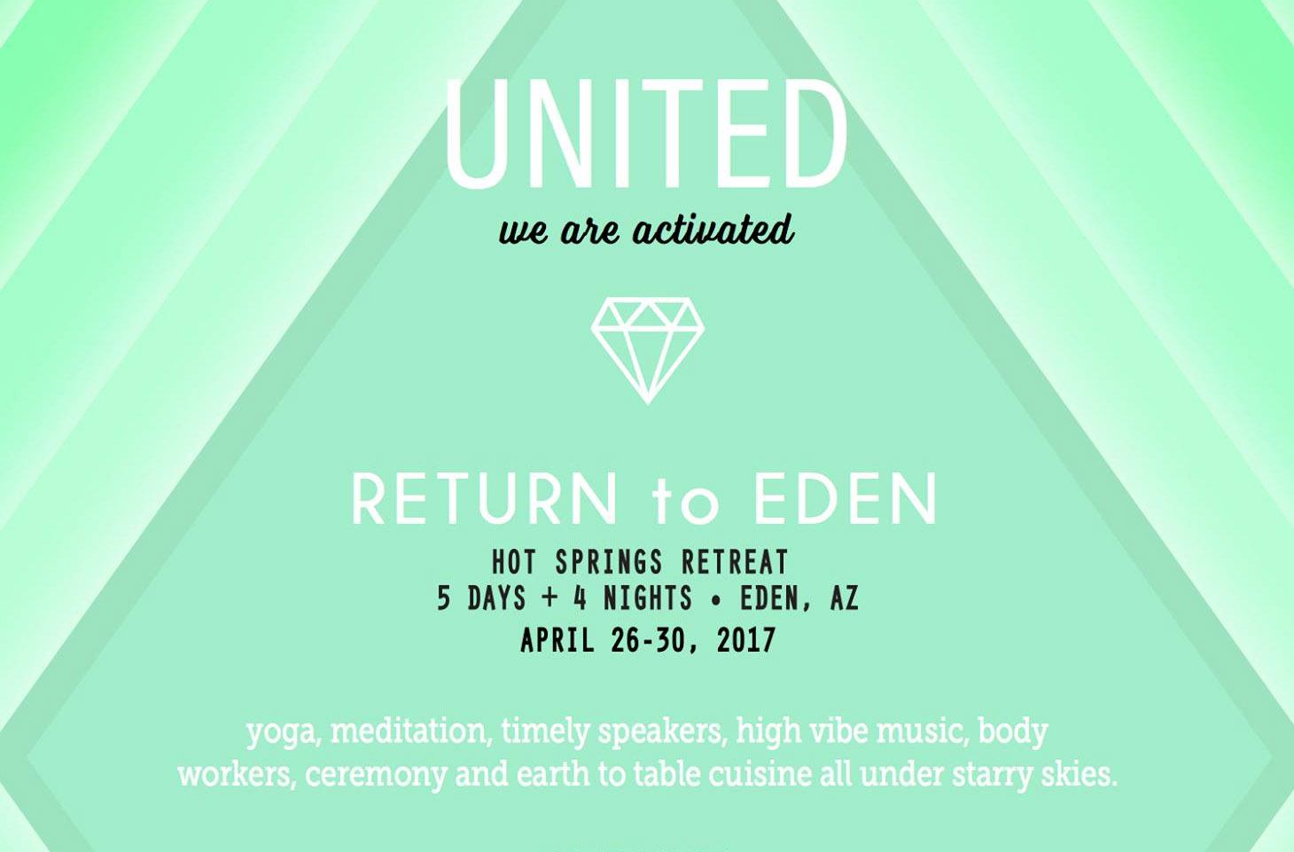 Eden Retreat Spring 2017