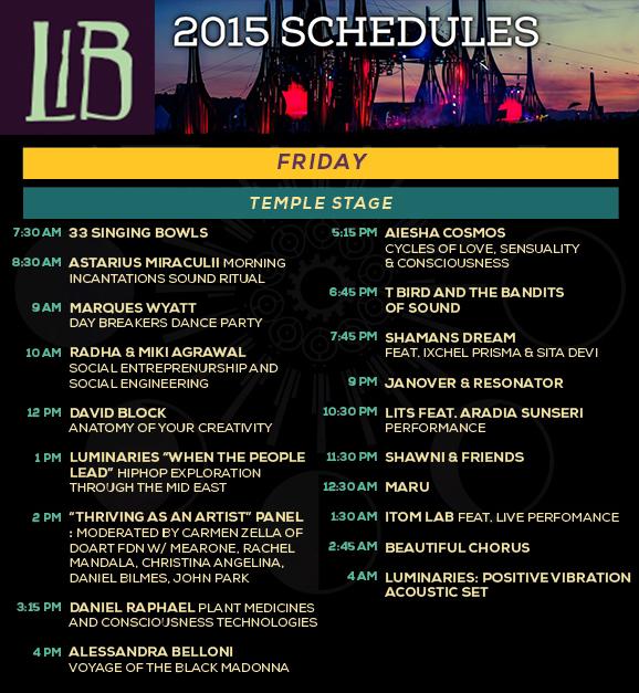 LIB Temple Stage Talk 2015