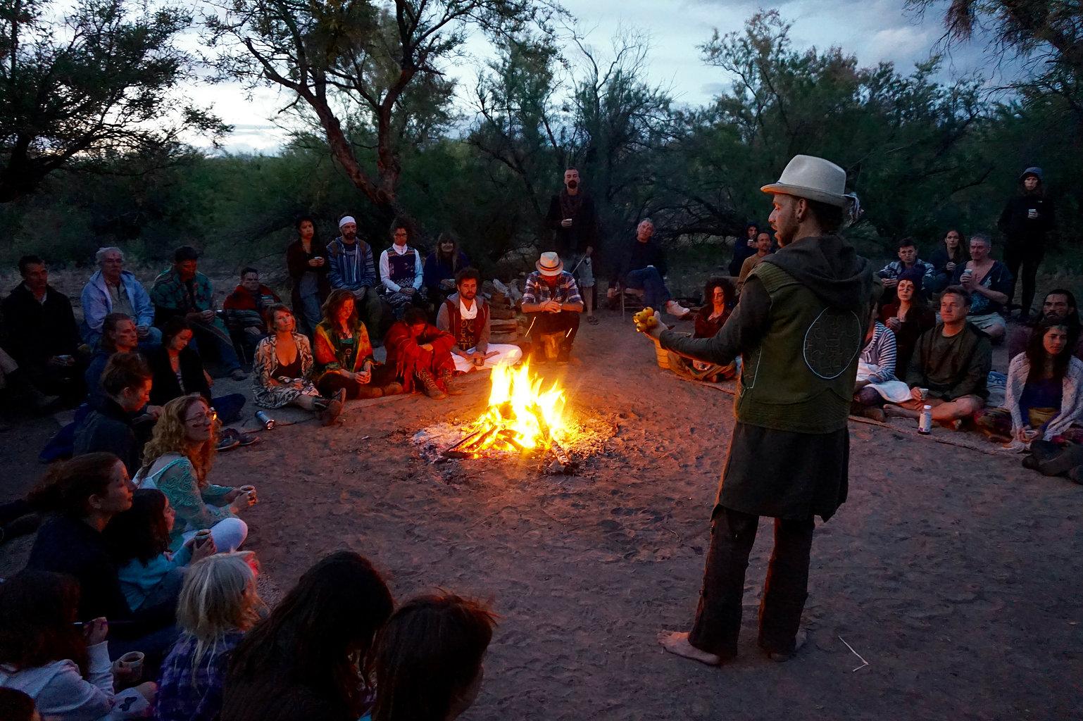 Eden Fire Ceremony