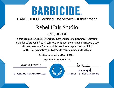 Rebel Barbicide certificate.png