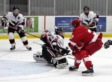 The Carleton Ravens women's hockey team host the McGill Martlets at the Carleton Ice House.