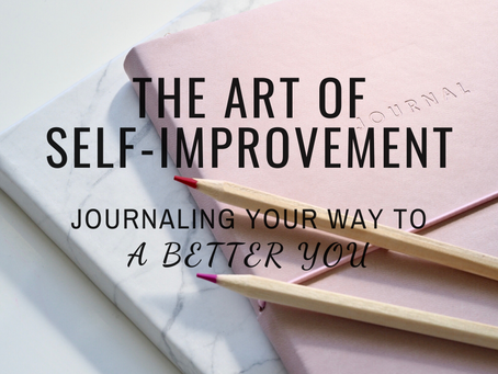 The Art of Self-Improvement