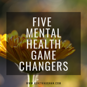 5 Mental Health Game Changers