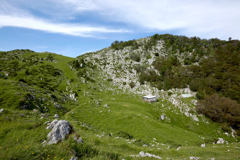 Cabane pastorale Pyrénée