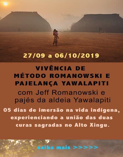 Vivência de Romanowski e Pajelança Yawalapiti no Alto Xingu setembro 2019