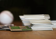 Pile of Trading Cards