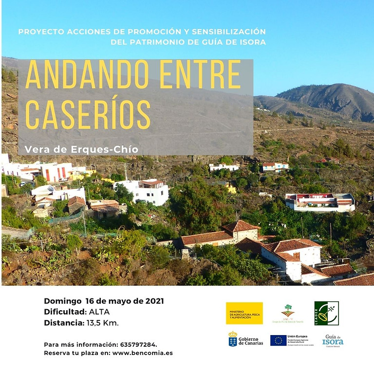 """Proyecto de promoción del Patrimonio de Guía de Isora: Ruta """"Andando entre caseríos"""""""