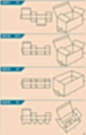 pappkast, pappkastid, fefco 0211-0215
