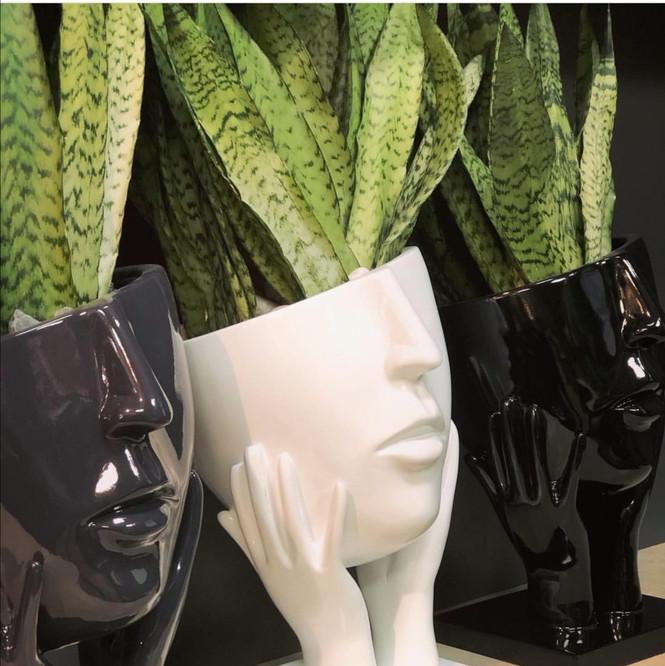 Décoration d'intérieur - Vase Visage penseur.jpg