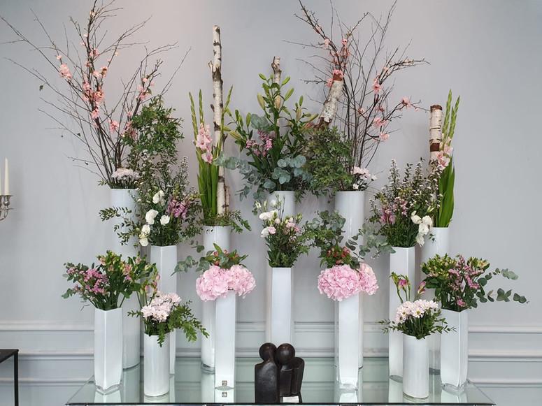 Décoration florale hotel lyon