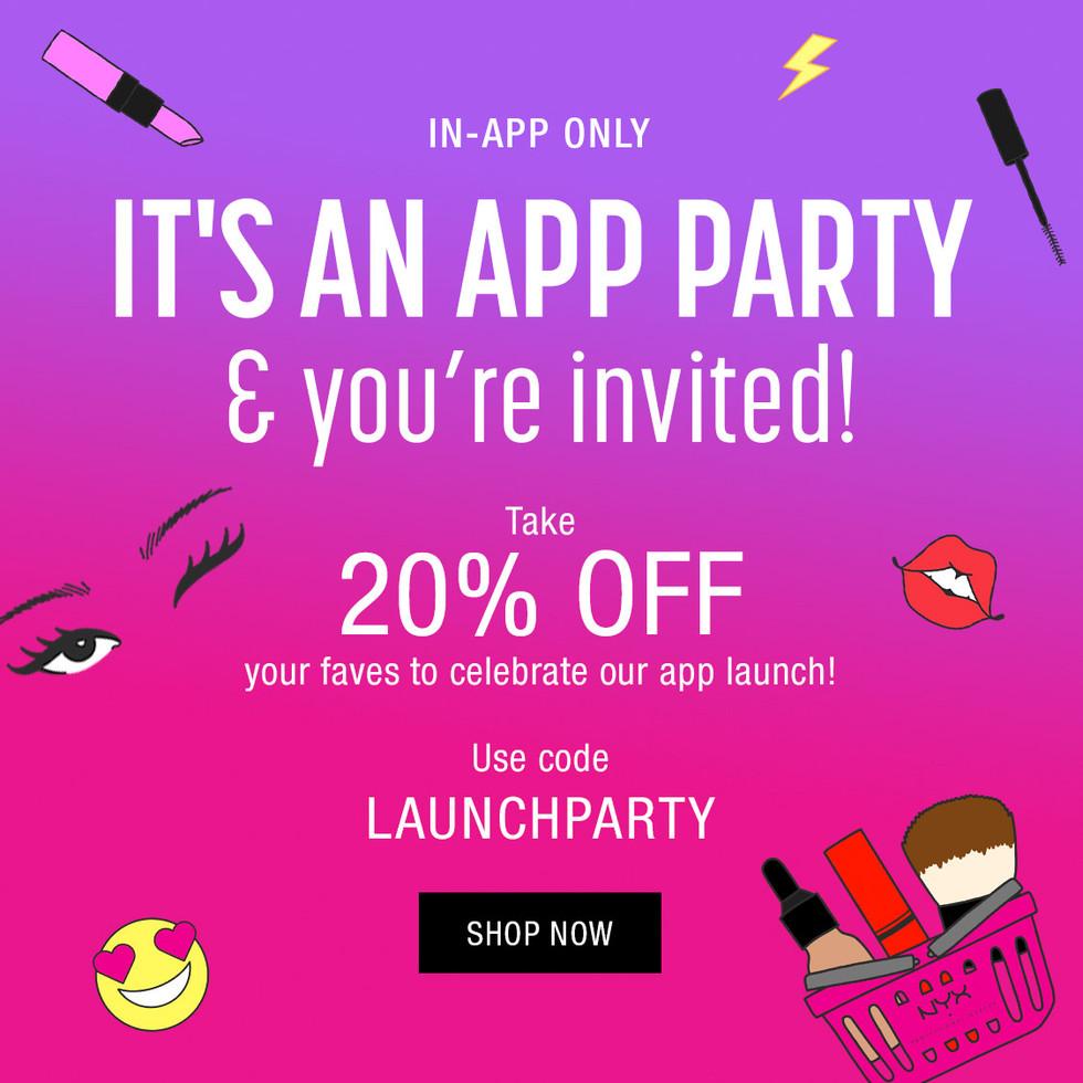 App Launch Promotion Graphic