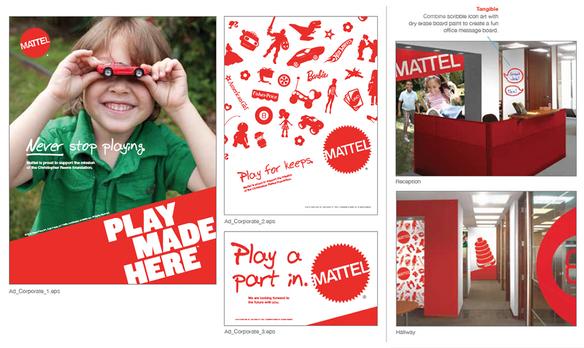 Mattel Corporate Rebrand