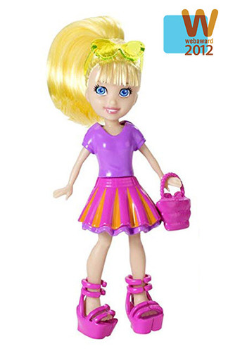 Polly Pocket Gamified Site