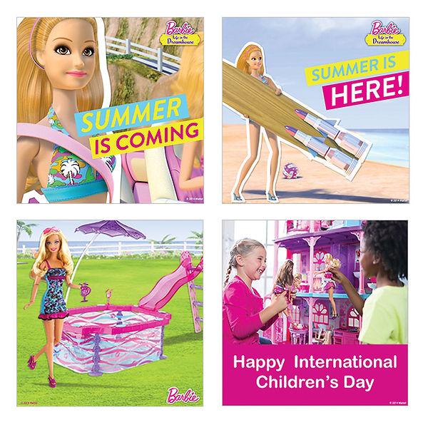 Barbie Social Posts
