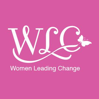 Women Leading Change Logo and Flyer