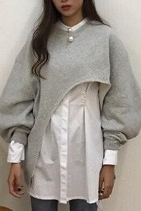 Isabelle Sweatshirt | Gray Sweatshirt