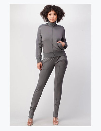 So Chilled Out Tracksuit | Grey