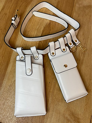 Make An Impact | White Utility Belt