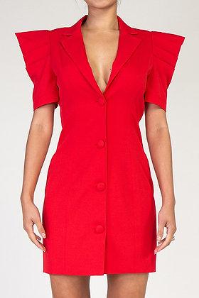 Ruby Woo | Red Dress