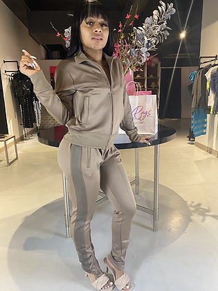 So Chilled Out Tracksuit | Mocha