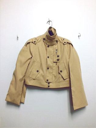 Her Combat | Khaki Cargo Jacket