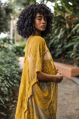 Living In Lace | Mustard Kimono