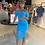 Thumbnail: Mesh With Me | Turquoise Midi Dress