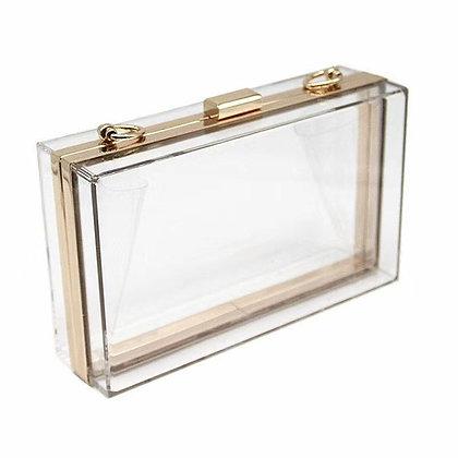 Clear Box Vanity Bag