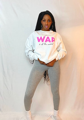 WAP Off The Market | White Sweatshirt