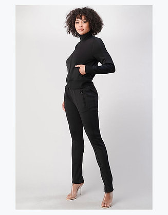 So Chilled Out Tracksuit   Black
