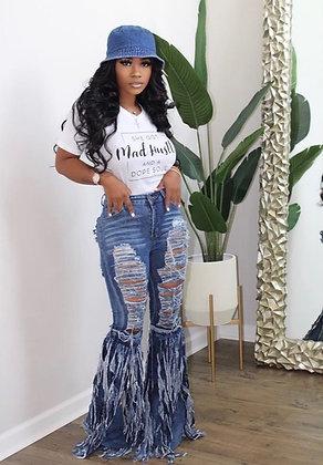 Roxy | Destroyed Denim Jeans