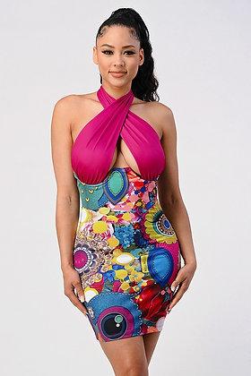 Riley   Halter Dress