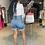 Thumbnail: Angie | Denim Bermuda Shorts