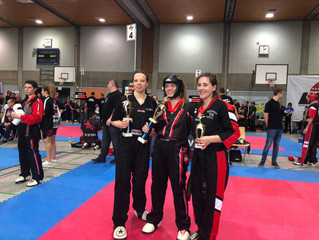 3 Vizemeistertitel für Jenny Dahlström