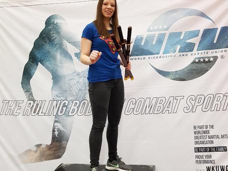 Jenny Dahlström gewinnt Samonte Cup