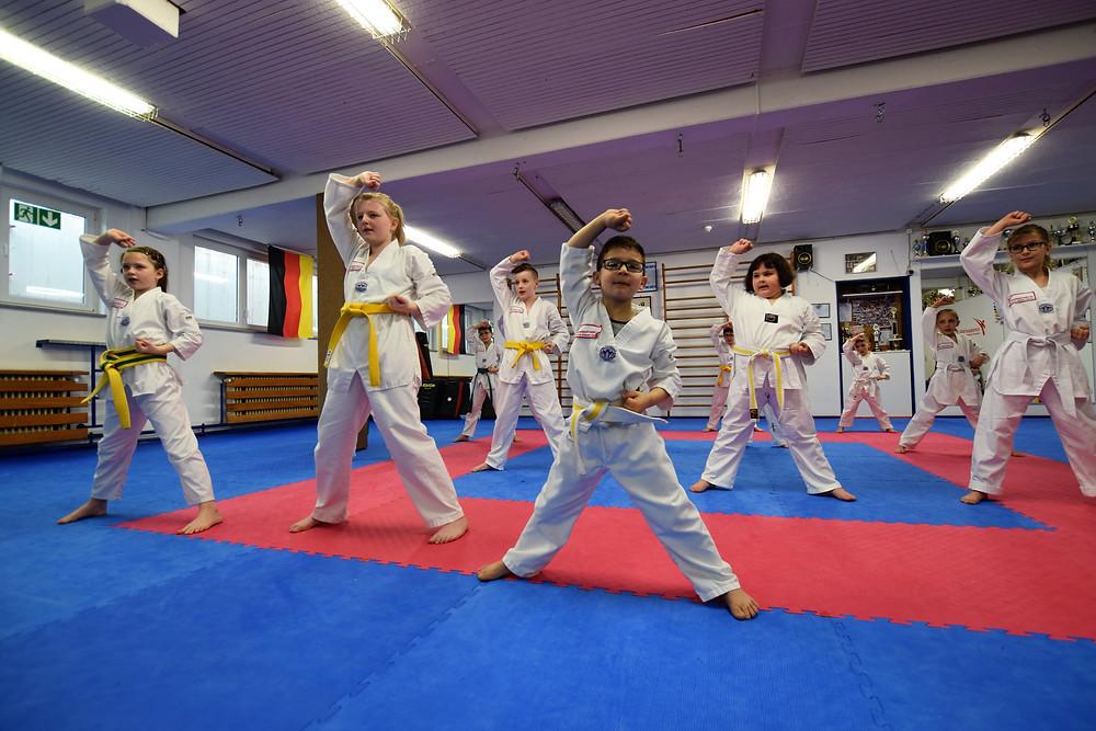 Taekwondo beim Sommerferienprogramm