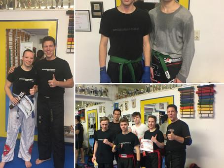 Gürtelprüfung Kickboxen Jugend + Erwachsene