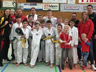 Erfolgreiche Landesmeisterschaft Taekwondo Leichtkontakt