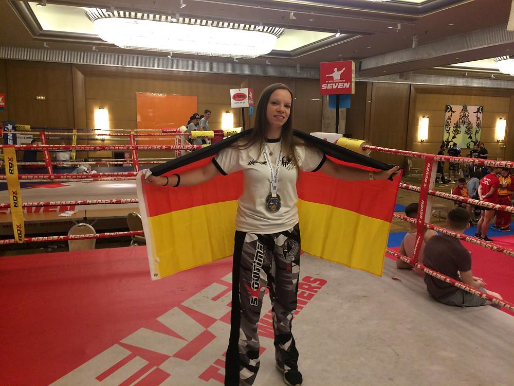 Weltmeisterin Jenny Dahlström