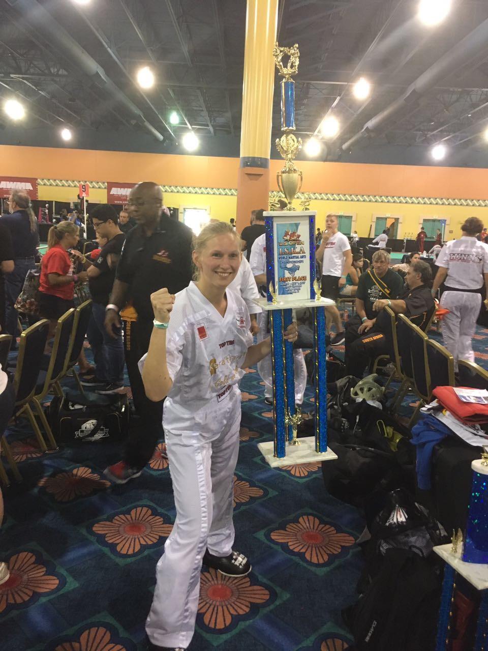 Anja Borrosch gewinnt die US Open