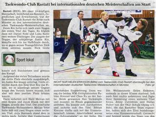 Erfolgreiche IDM Taekwondo des DTB