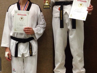 Vizemeistertitel IDM Taekwondo